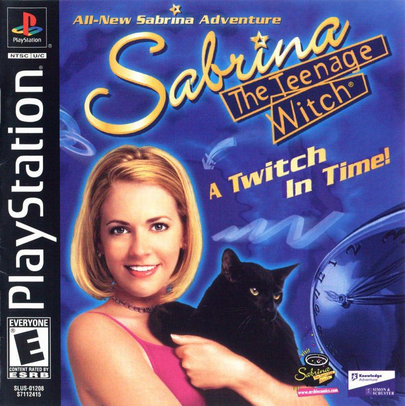 Sabrina the Teenage Witch A Twitch in Time! - PlayStation 1