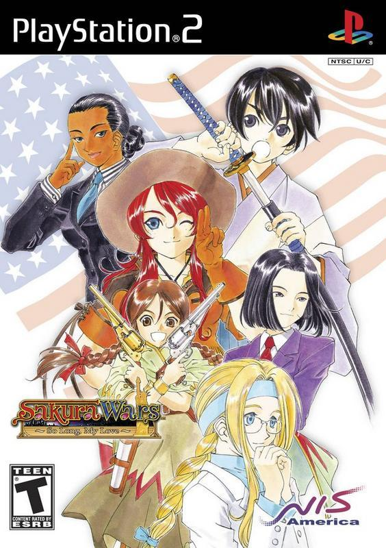 Sakura Wars So Long My Love - PlayStation 2