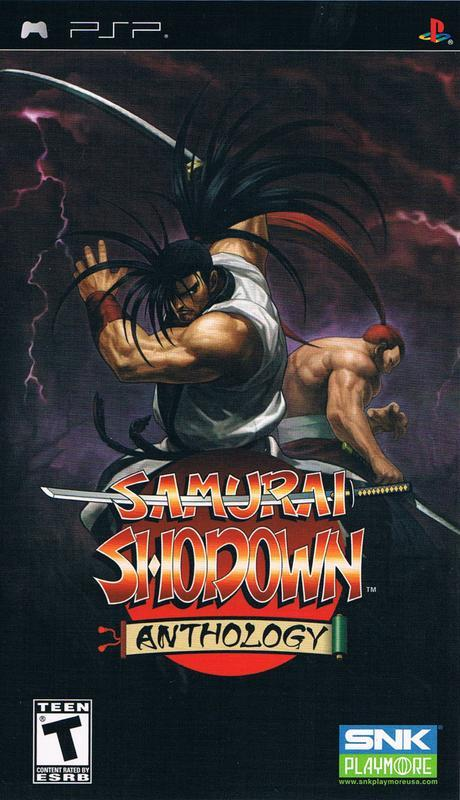 Samurai Shodown Anthology - PlayStation Portable