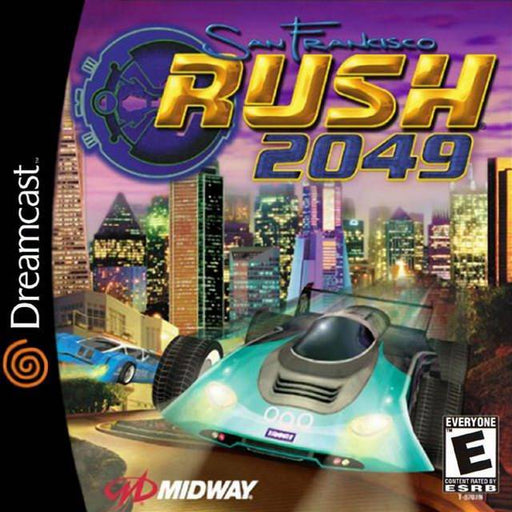San Francisco Rush 2049 - Sega Dreamcast