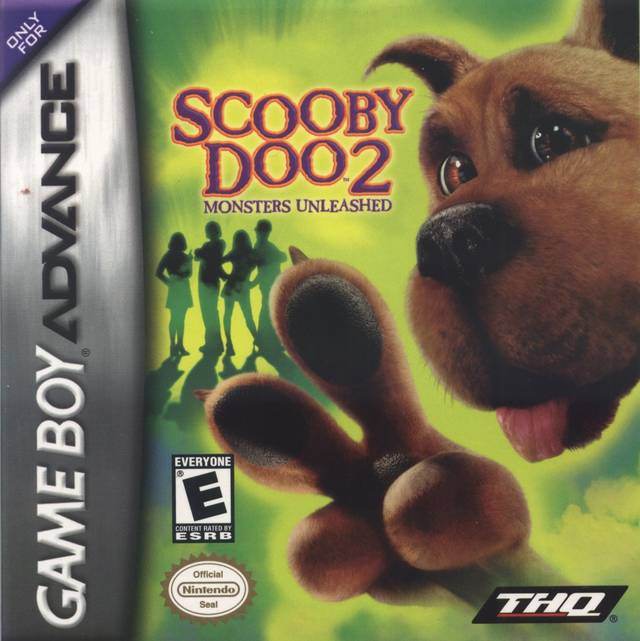 Scooby-Doo 2 Monsters Unleashed - Game Boy Advance