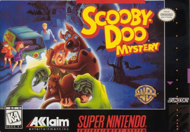 Scooby-Doo Mystery - Super Nintendo Entertainment System
