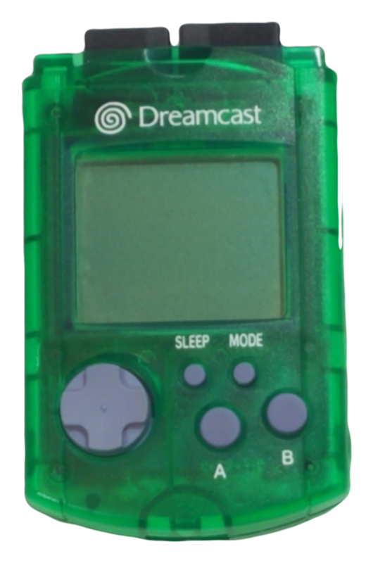 Sega Dreamcast VMU Virtual Memory Unit – Green