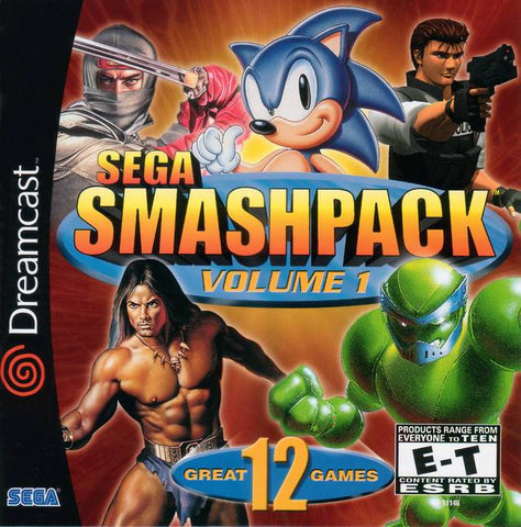 Sega Smash Pack Volume 1