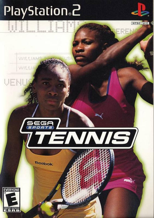 Sega Sports Tennis - PlayStation 2