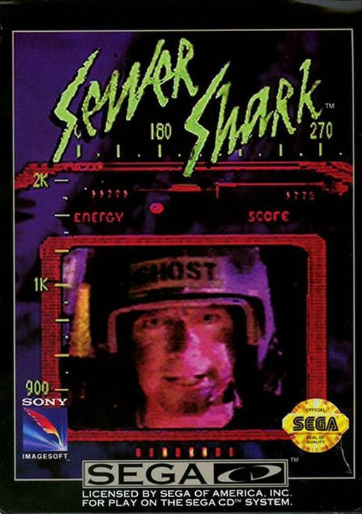 Sewer Shark - Sega CD
