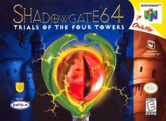 Shadowgate 64 Trials of the Four Towers