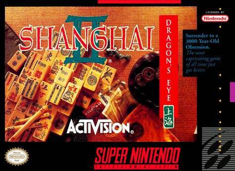 Shanghai II Dragons Eye - Super Nintendo Entertainment System