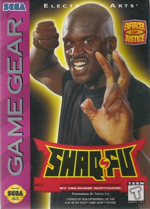 Shaq-Fu - Sega Game Gear