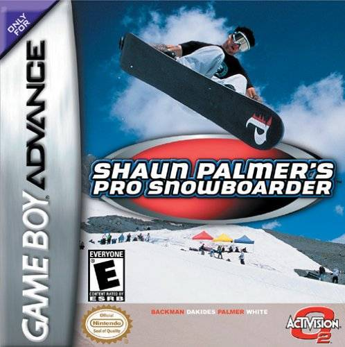 Shaun Palmers Pro Snowboarder - Game Boy Advance