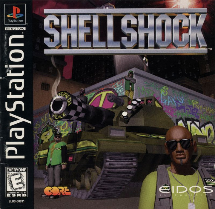 Shellshock - PlayStation 1