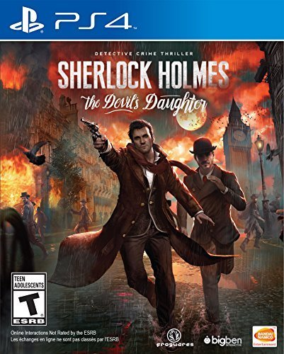 Sherlock Holmes The Devils Daughter - PlayStation 4