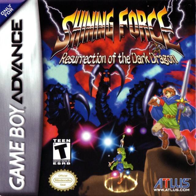 Shining Force Resurrection of the Dark Dragon - Game Boy Advance