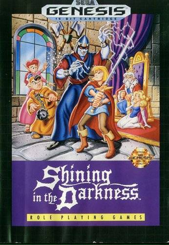 Shining in the Darkness - Sega Genesis