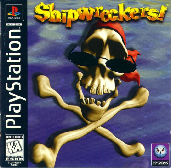 Shipwreckers! - PlayStation 1