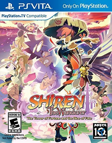 Shiren the Wanderer The Tower of Fortune and the Dice of Fate - PlayStation Vita