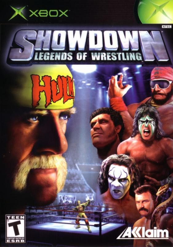 Showdown Legends of Wrestling - Xbox