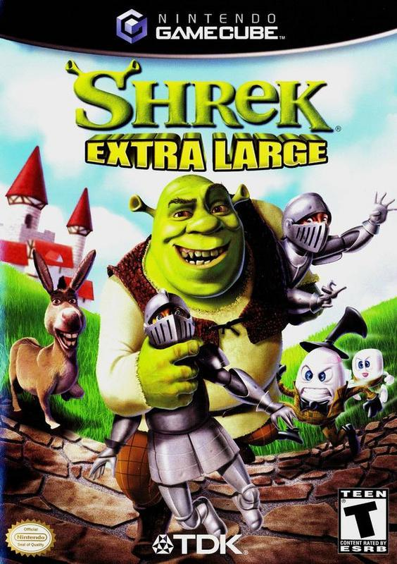 Shrek Extra Large - Gamecube