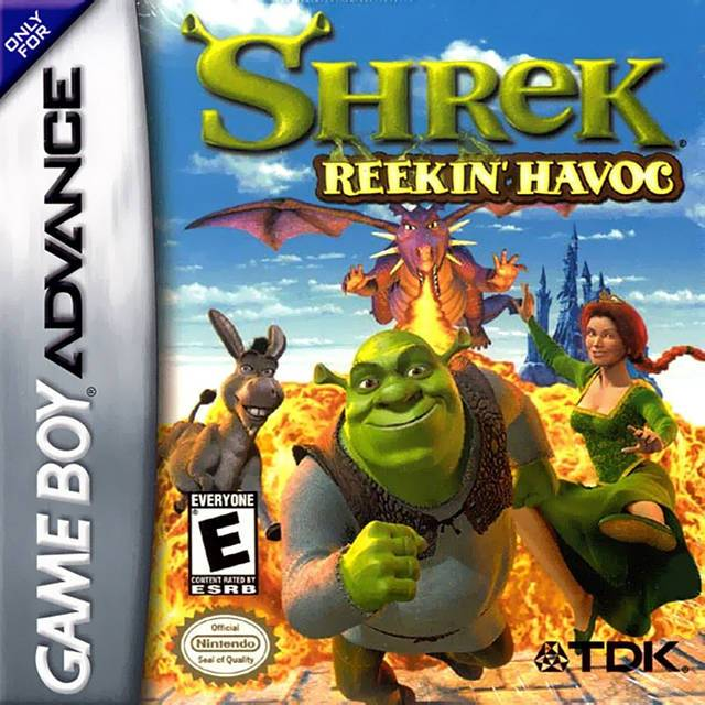 Shrek Reekin Havoc - Game Boy Advance
