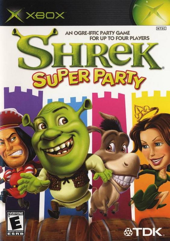 Shrek Super Party - Xbox