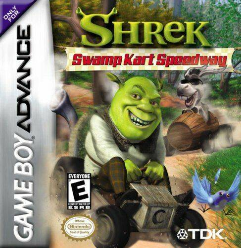 Shrek Swamp Kart Speedway - Game Boy Advance