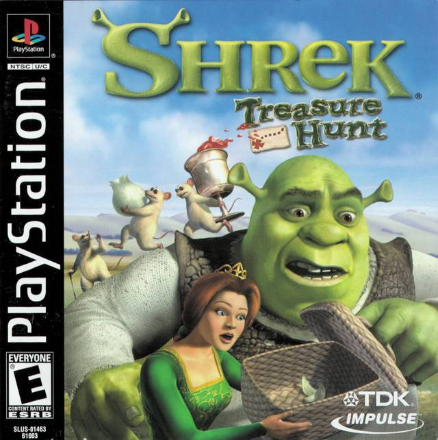 Shrek Treasure Hunt - PlayStation 1