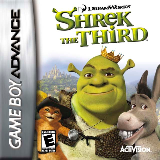Shrek the Third - Game Boy Advance