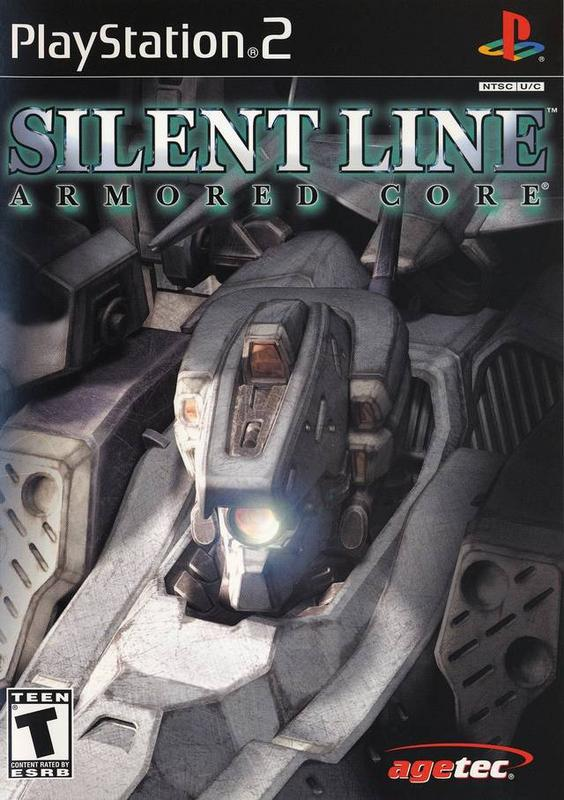 Silent Line Armored Core - PlayStation 2