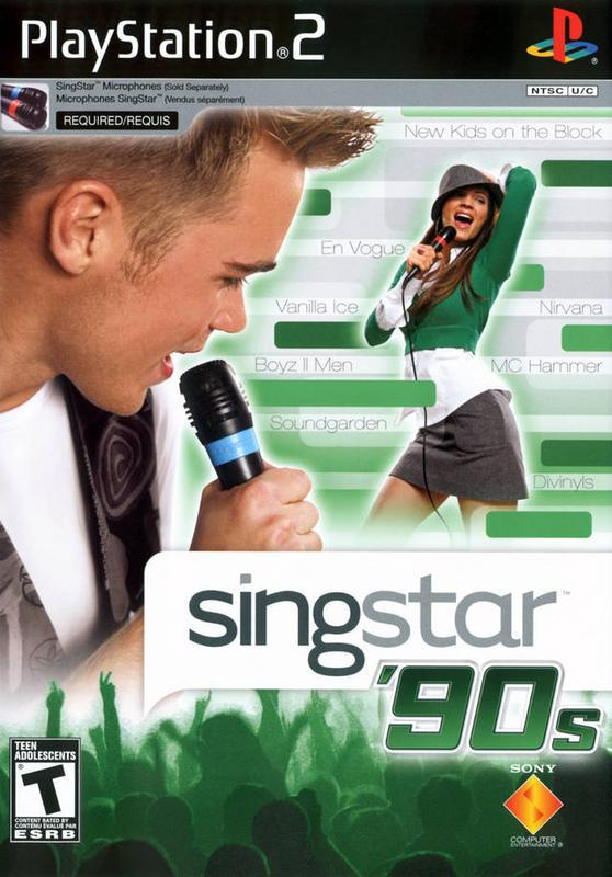 SingStar 90s - PlayStation 2