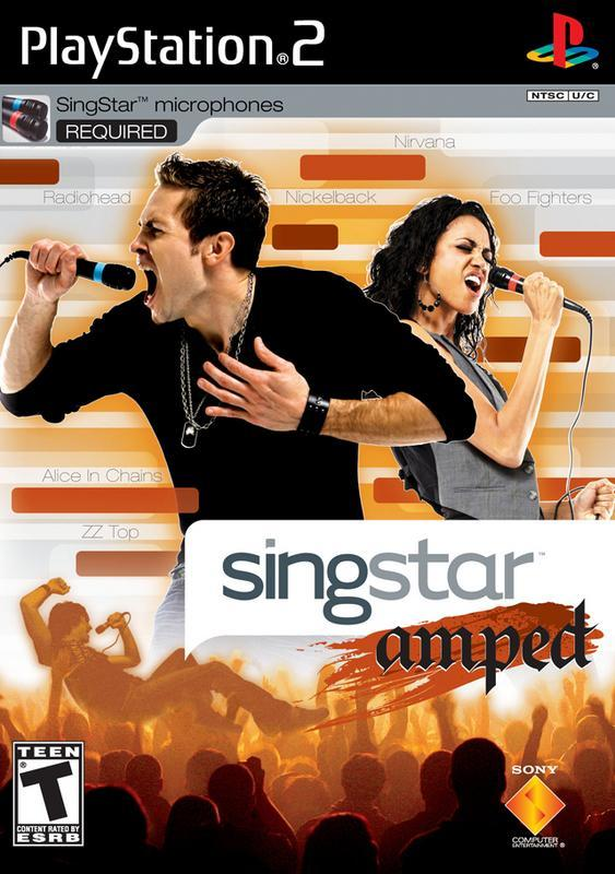 SingStar Amped - PlayStation 2