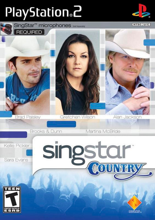SingStar Country - PlayStation 2