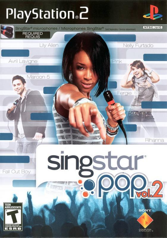 SingStar Pop Vol. 2 - PlayStation 2