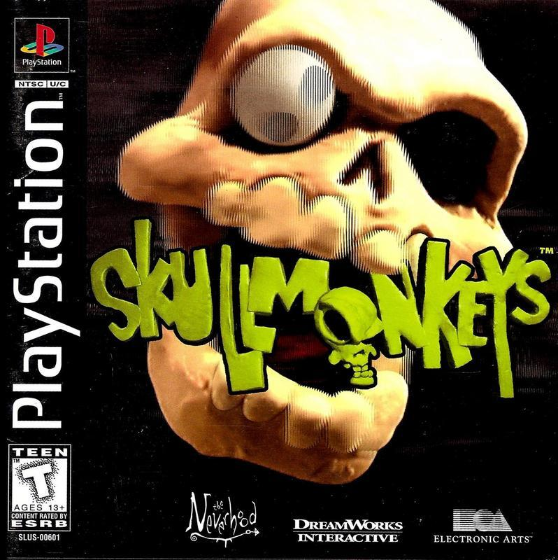 Skullmonkeys - PlayStation 1