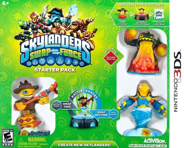 Skylanders Swap Force - Nintendo 3DS