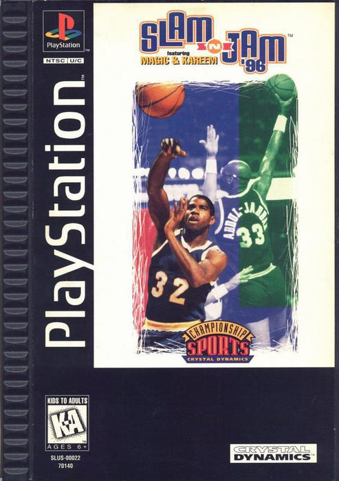 Slam n Jam 96 featuring Magic & Kareem - PlayStation 1
