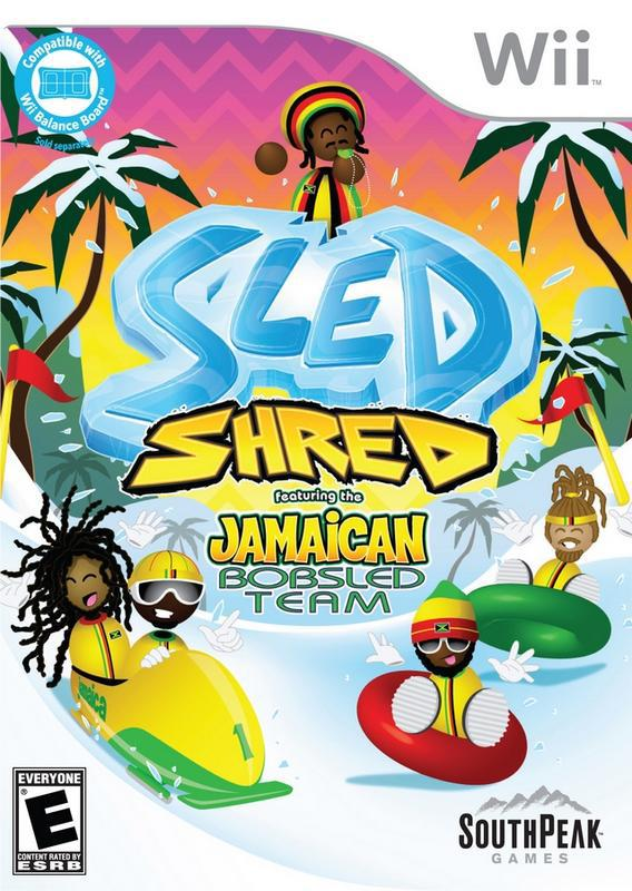 Sled Shred Featuring The Jamaican Bobsled Team - Wii