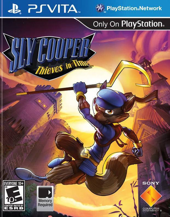 Sly Cooper Thieves in Time - PlayStation Vita