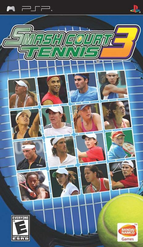 Smash Court Tennis 3 - PlayStation Portable