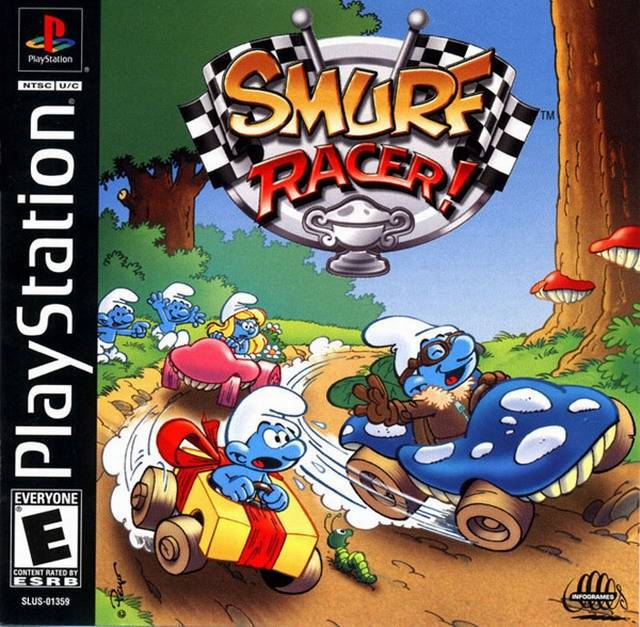 Smurf Racer! - PlayStation 1