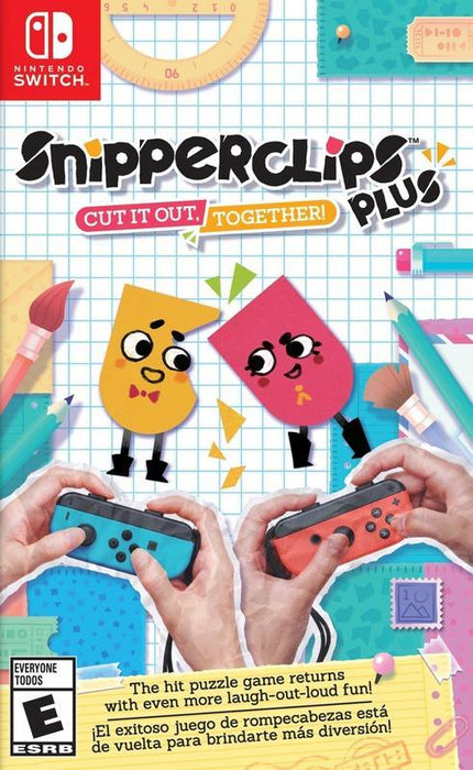 Snipperclips Plus Cut It Out Together! - Nintendo Switch