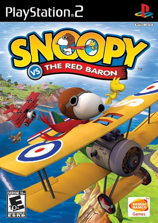Snoopy vs. the Red Baron - PlayStation 2