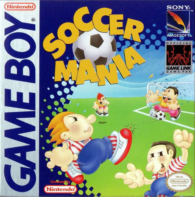 Soccer Mania - Game Boy