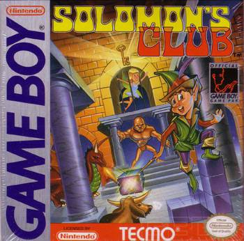 Solomons Club - Game Boy