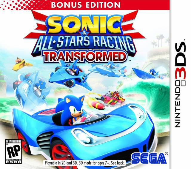 Sonic & All-Stars Racing Transformed - Nintendo 3DS