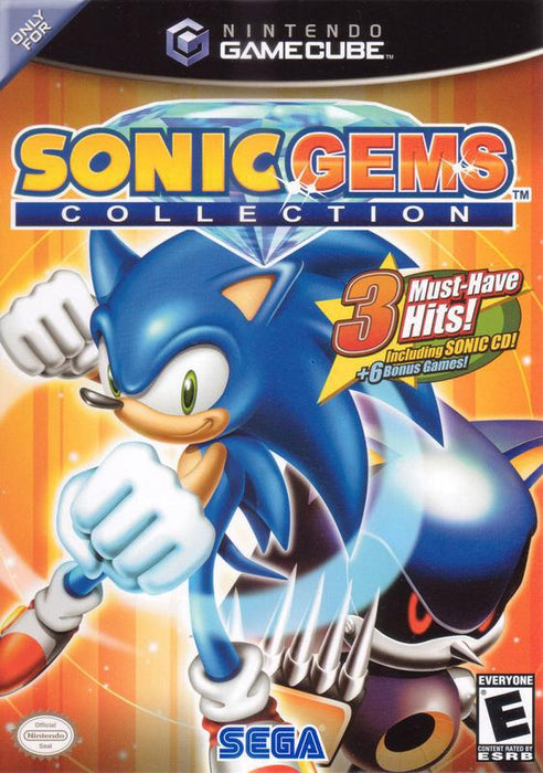 Sonic Gems Collection - Gamecube