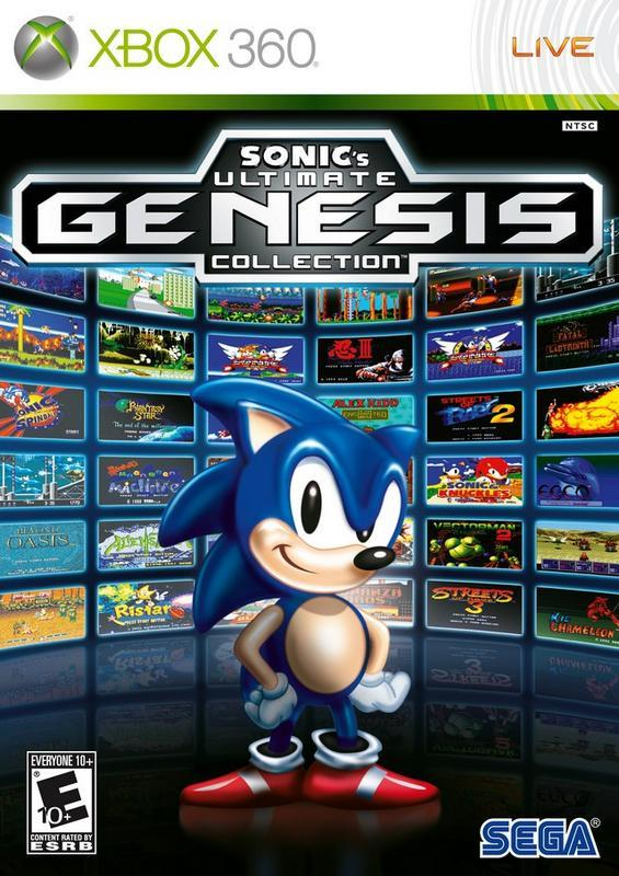 Sonics Ultimate Genesis Collection - Xbox 360