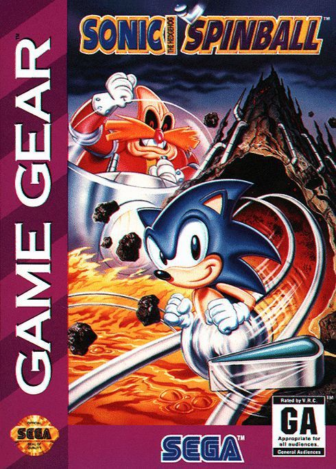 Sonic the Hedgehog Spinball - Sega Game Gear