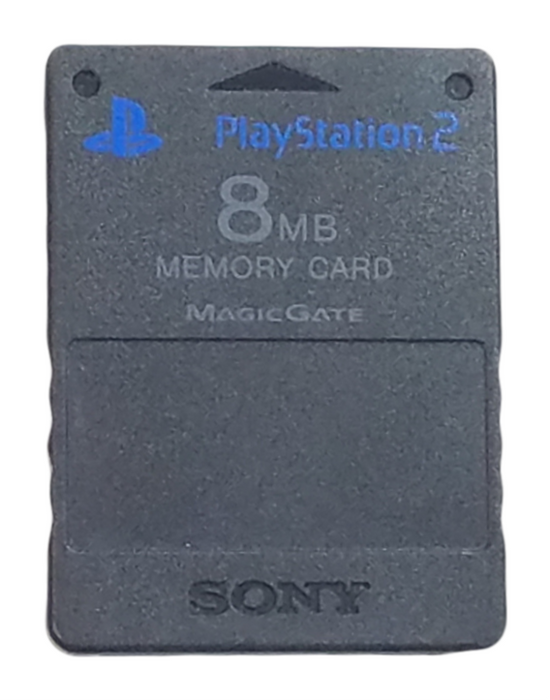 Sony PlayStation 2 - 8mb Memory Card – Magic Gate – Black