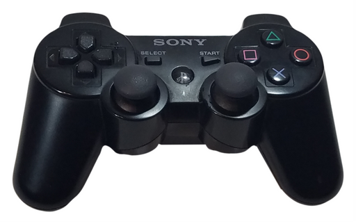 Sony PlayStation 3 Dual Shock 3 Wireless Controller With Charging Cable - PS3 – Black