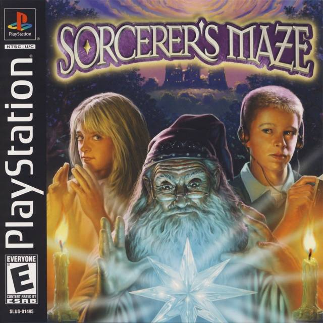 Sorcerers Maze - PlayStation 1